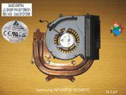 Система охлаждения  от ноутбука Samsung NP550P5C NP550P7C. УВЕЛИЧИТЬ