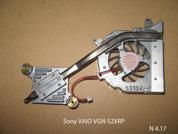 Система охлаждения  от ноутбука Sony VAIO VGN-S2XRP. УВЕЛИЧИТЬ
