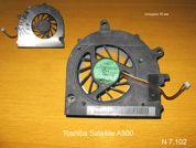 Вентилятор  от ноутбука Toshiba Satellite A500. УВЕЛИЧИТЬ