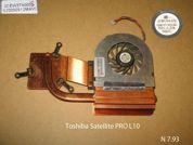 Система охлаждения  от ноутбука Toshiba Satellite PRO L10. УВЕЛИЧИТЬ