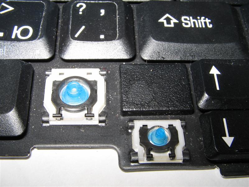 Что делать если на ноутбуке выскочила кнопка