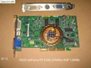 Видеокарта для настольных компьютеров  NVIDIA GeForce FX 5200 128 Мб . УВЕЛИЧИТЬ