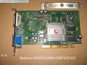 Видеокарта для настольных компьютеров  ATI RADEON 9200SE 64 Mb . УВЕЛИЧИТЬ