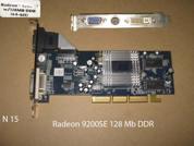 Видеокарта для настольных компьютеров  ATI RADEON 9200SE 128 Mb. УВЕЛИЧИТЬ
