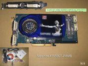 Видеокарта для настольных компьютеров  Sapphire Radeon X1950 GT. УВЕЛИЧИТЬ